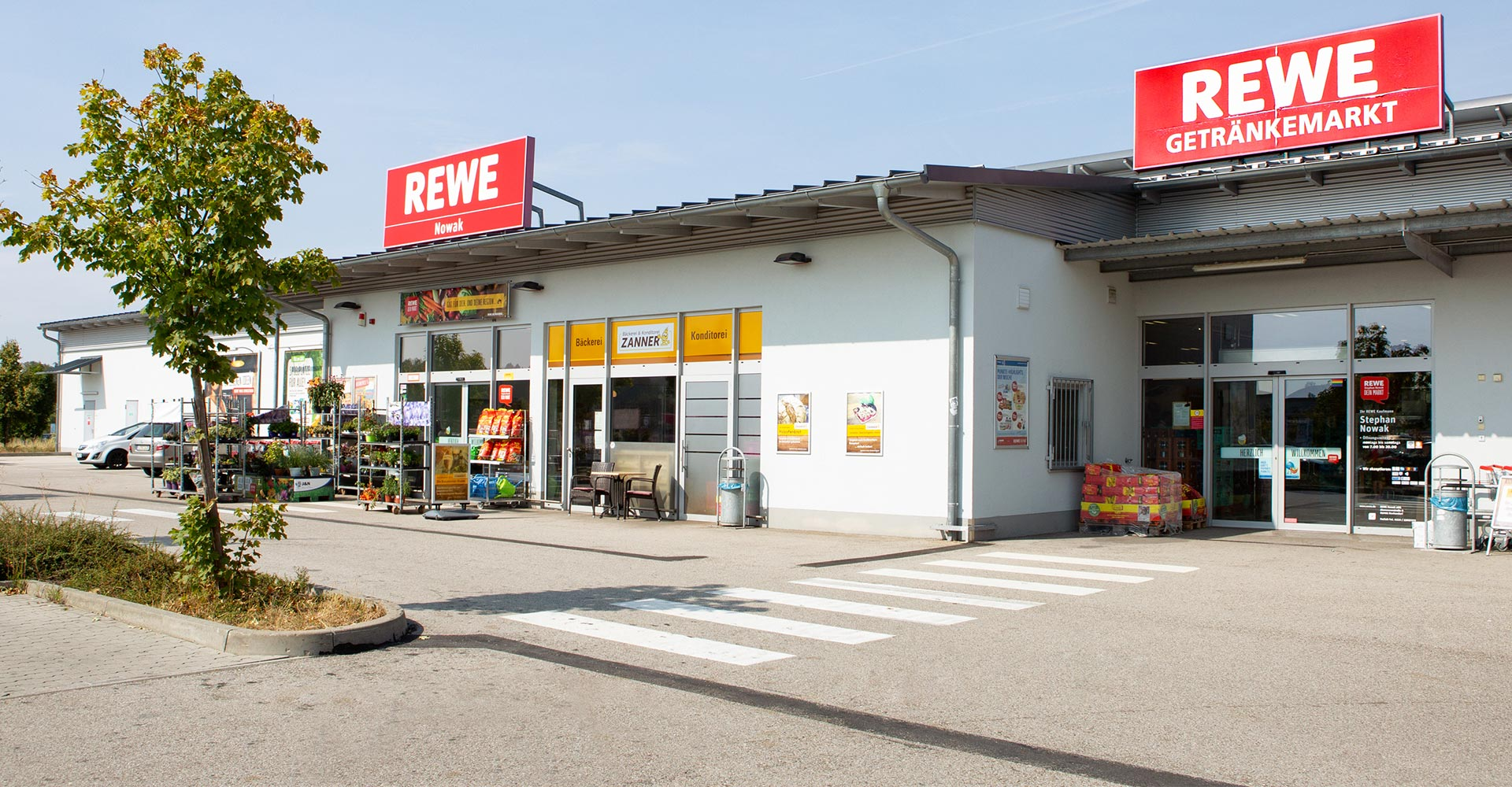 REWE-Teambild